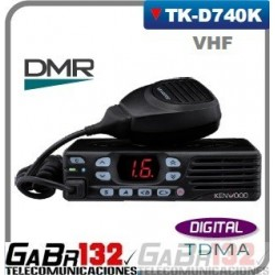 Móvil / Base Kenwood  TK-D740HK VHF / DIGITAL DMR