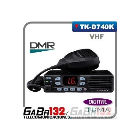 Móvil / Base Kenwood  TK-D740K VHF / DIGITAL DMR