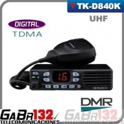 Móvil / Base Kenwood  TK-D840HK UHF / DIGITAL DMR