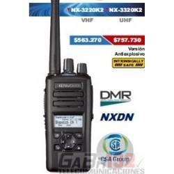 Portátil Kenwood NX-3220K2 VHF / Digital DMR