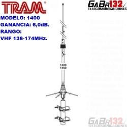TRAM 1400: Antena Base VHF de Aluminio