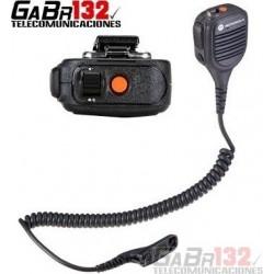 PMMN4046: Micrófono Parlante Motorola Línea DGP con Control de Volumen