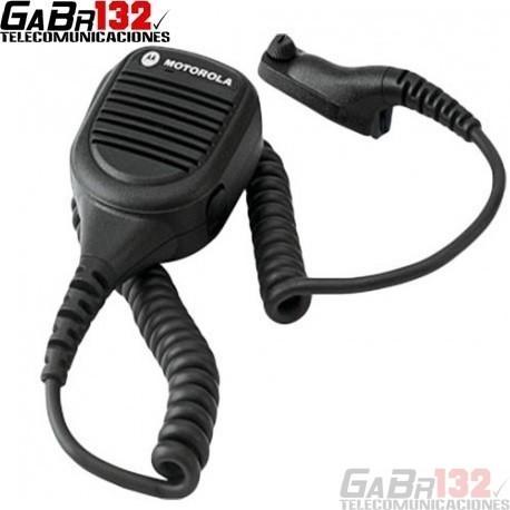 PMMN4024: Micrófono Parlante Motorola Línea DGP con Conector de Audio de 3,5mm.