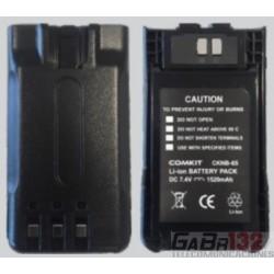 KNB65 Batería de Li-Ion para Kenwood TK2000 TK3000