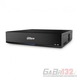 XVR Dahua 4K 16CH HDCVI 64CH IP 8HDD IVS Inteligencia Artificial 2U H.265+