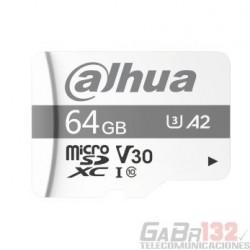 Memoria Micro SD 64 GB Dahua