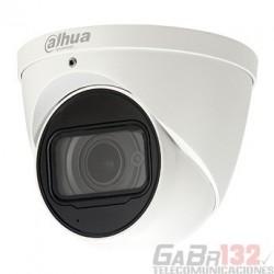 Cámara Dahua IP domo inteligencia artificial 4MP 2.8mm IR50 Micrófono PoE Audio IP67 MicroSD