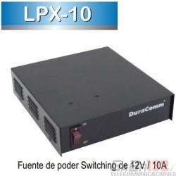 LPX-10 Fuente de Poder DURACOM