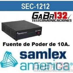 SEC-1212 Fuente de Poder SamlexAmérica de 10A.