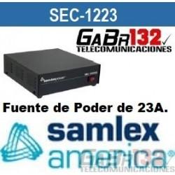SEC-1223 Fuente de Poder SamlexAmérica de 23A.