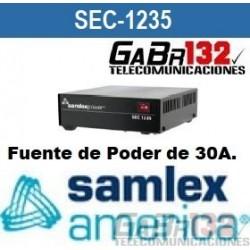 SEC-1235 Fuente de Poder SamlexAmérica de 30A.