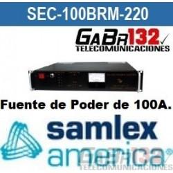 SEC-100BRM Fuente de Poder SamlexAmérica de 100A.