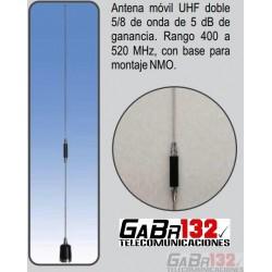 Antena Móvil UHF de 5dB
