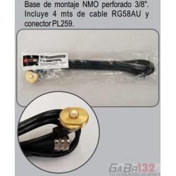 """Montaje Perforado NMO 3/8"""""""